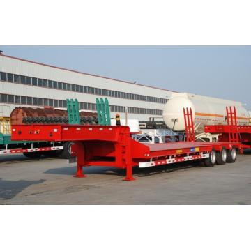 50T Tri-Axle Lowbed Semi-Trailer