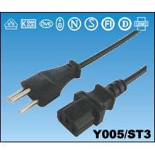 Schweizer SEV Standard Stecker Stromkabel