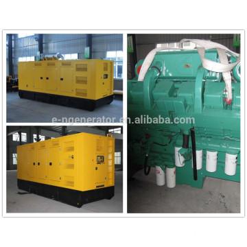 silent generator 800kw with CUMMINS kta38 diesel engines
