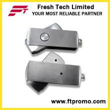 Mini lecteur flash USB mini tournant en métal (D310)