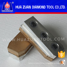 Bloque de pulido de diamantes de pulido perfecto utilizado en la máquina Werkmaster