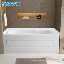 Seawin Luxury Prices Bathroom Indoor Fiberglass Standing Acrylic Bathtub