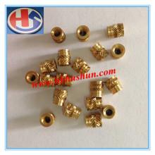 Pièce de rechange en laiton, traitement des métaux Ecrou en cuivre (HS-TP-0010)