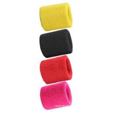 Venda Por Atacado Wristbands Toalhas, Absorver Sweatbands Multi-Color Customized Logo