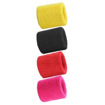 Großhandel Handtücher Armbänder, absorbieren Sweatbands Multi-Color Logo