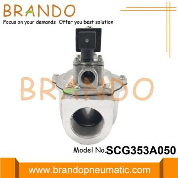 "2 ""SCG353A050 Dust Collector Solenoid Valve 24V 220V"