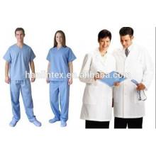 Школьная школьная форма / Тканевая форма медсестры / Ткань 140gsm TC 32 * 32 130 * 70