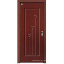 Puertas de madera laminadas en MDF de PVC