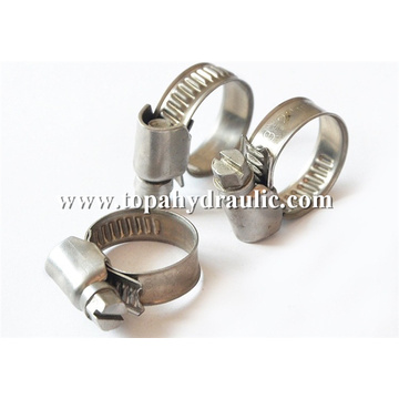 hydraulic screw tube stainless steel pipe clamp