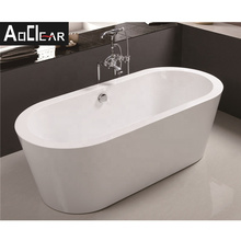 Aokeliya acrylic affordable price freestanding bathtubs for sale hot-selling wholesale stand alone bathtubs for home