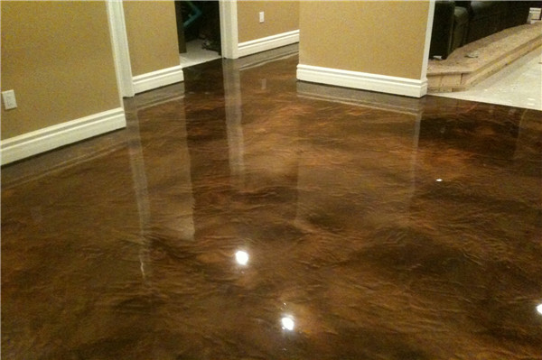 how to install metallic epoxy flooring