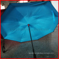 Wholesale Double Layers Hands free magic inverted umbrella upside down reverse umbrella