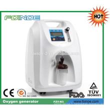 FZY-N3 Vente chaude et générateur d'oxygène approuvé CE pour la salle