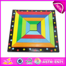2014 New Wooden Puzzle Toys, High Quality Puzzle Toys, Hot Sale Wooden Puzzle Toys W13A043