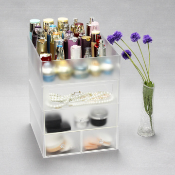 Billig Clear Akryl Makeup Organizer
