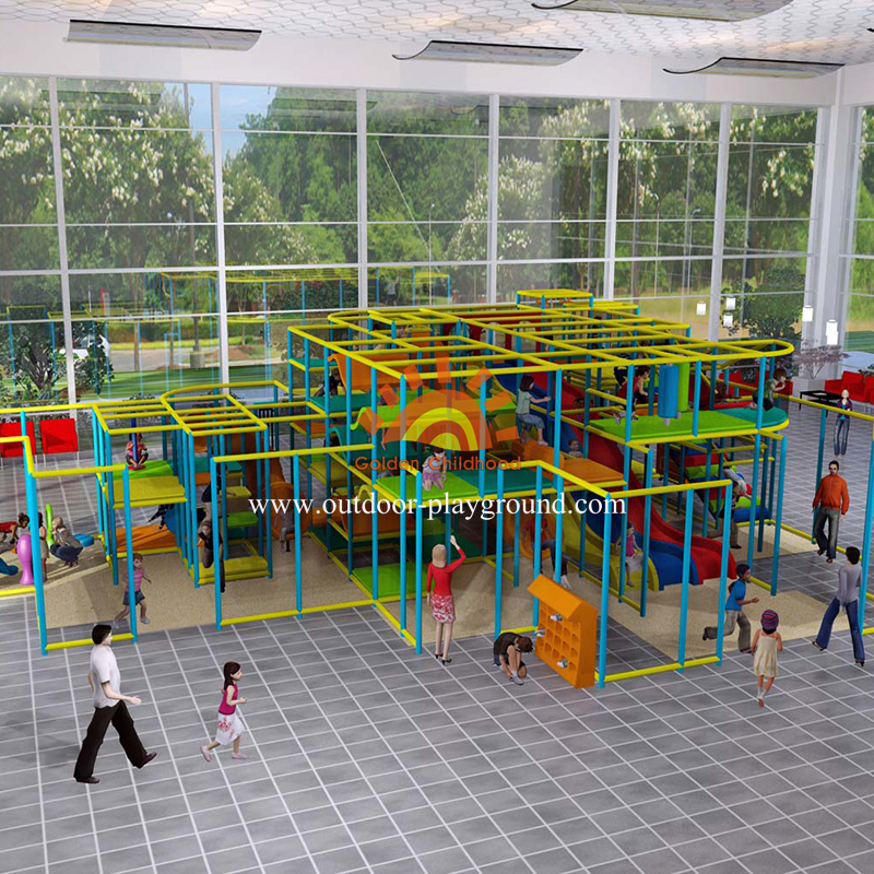 Large Kids Indoor Play Centre Playground Equipment For Sale