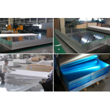5052 5083 6061 Folha de alumínio de acabamento do moinho