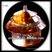 Garrafa De Perfume De Cristal Agradável C185