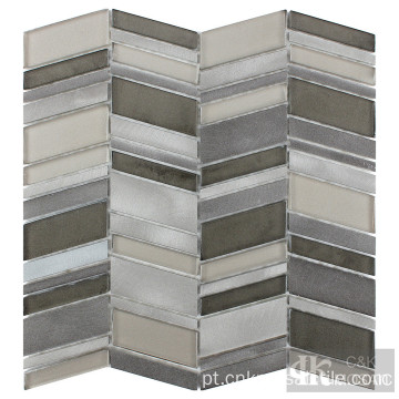 Mosaico de metal para backsplash