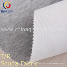 Polyester Rayon One-Side Dyed Scuba Fabric for Textile Garment (GLLML209)