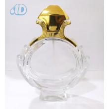 Ad-P263 Curved Spray Glass Transparente Frasco De Perfume