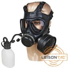 Militärische Gasmaske mit Trink-Gerät