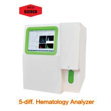 HA 7501 completo analizador de la hematología de diff 5 parte automática