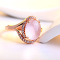 Crystal Ring Bijoux Fashion Jewelry 925 Sterling Silver Jewelry (CR0056)