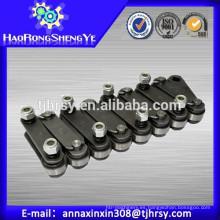 Pitch 101.6mm Palm Oil Cadenas con placa recta (Solid Pin)