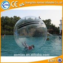 Balle d'eau flottante / balle boule gonflable à eau / ballon gonflable à eau avec piscine