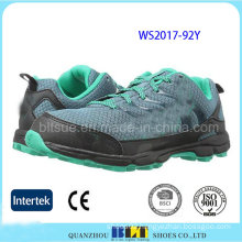 Athletic Woman Running Sport Mesh Upper Shoes
