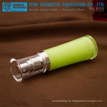 YB-X30 30 ml verde pintado capacidad estándar clase alta oz 1 acrílico claro botellas de plástico por mayor