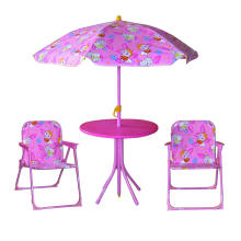Kids portable folding garden table and chair sets, plastic garden chairs