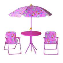Дети портативный складной садовый стол и стулья, пластиковые стулья садовые