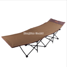 Iron Pipe Camp Oxford Cloth Folding Bed