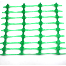 Warning safety net green plastic barrier at low price
