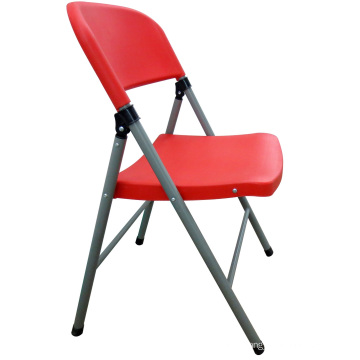 Hot Selling Outdoor Leisure Portable Colorful PP Plastic Folding Dining Chair From China Manufacturer