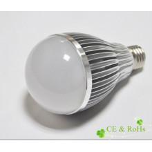 Shenzhen a conduit une puissance élevée E27 100-240v 12w ampoule led avec CE, certificat RoHs
