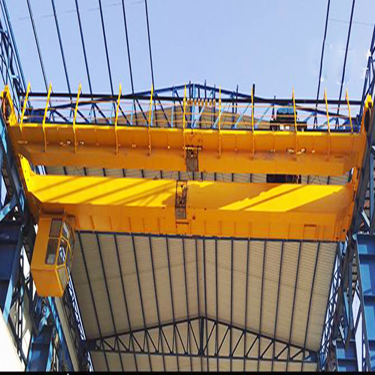 QD 10 ton double beam bridge crane