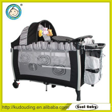Alibaba china supplier simple baby bed with nets