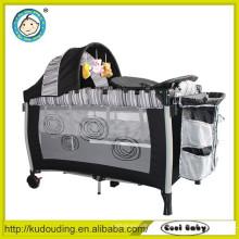 Alibaba China fornecedor cama de bebê simples com redes