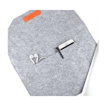 High Quality Felt Sleeve Carrying Bag Ultrabook Laptop Bag for Apple MacBook 12 Inch
