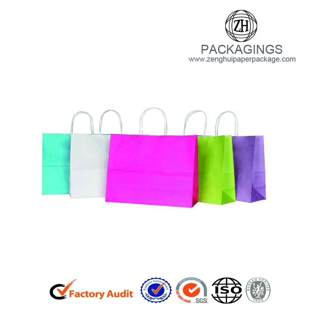 Customized Paper Bag With Logo Print