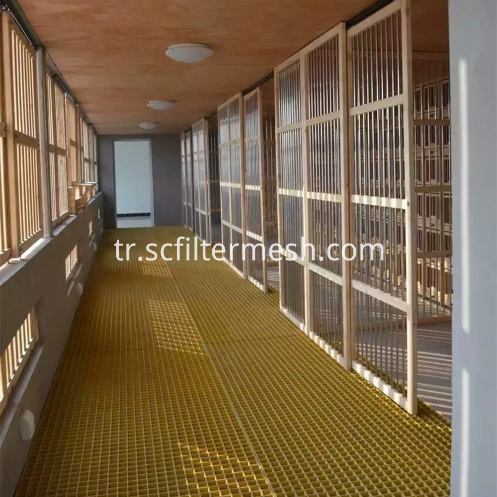Yellow Fiberglass Grating