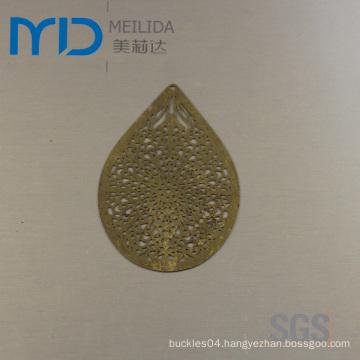 Wholesale Brazil Fashion Copper Jewelry Filigree Eardrop Sheet