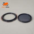 Couvercle de pot de peinture en métal de 5-1 / 2 po de diamètre (revêtement époxy)