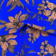 nylon 84 spandex 16 4 way stretch smooth shiny glitter swim fabric tropical print