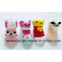 China Socks Factory Cotton Fancy and Lovely 3D Animal Baby Custom Design Toddler Socks