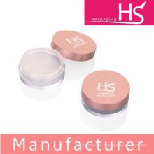 empty cosmetic plastic loose powder jars