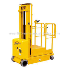 Automatic Aerial Electric order picker battery semi-electric order picker